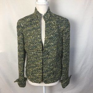 Lafayette 148 New York Tweed Wool Blazer